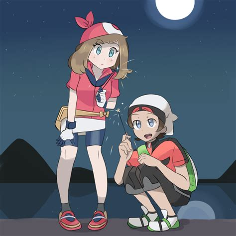 pokemon brendan and may commission by chocomiru02 on deviantart