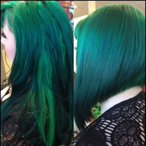 1000 Images About Green Hair Is My Favorite On Pinterest