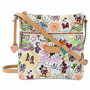 Disney sketch nylon letter carrier bag by dooney bourke for Disney sketch nylon letter carrier bag by dooney bourke