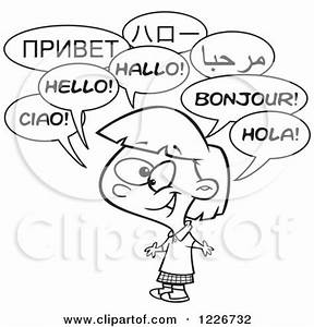 Royalty-Free (RF) Multilingual Clipart, Illustrations ...