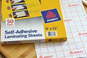 self adhesive laminating sheets quot on the go quot bag With avery letter size self adhesive laminating sheets