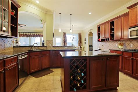 glass top kitchen island kitchen island with wine rack design options homesfeed