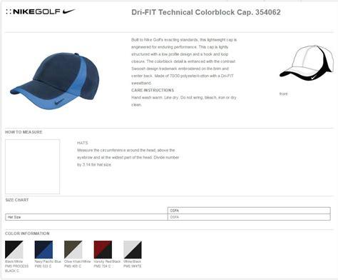 nike golf  dri fit technical colorblock caps