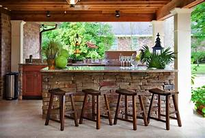 20, Spectacular, Outdoor, Kitchens, With, Bars, For, Entertaining