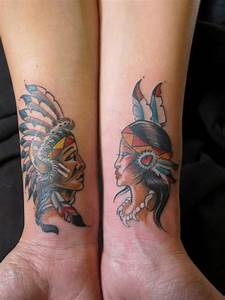 Tattoos Die Sich Ergänzen : 57 tatuaje reci pentru cupluri care simbolizeaz dragostea ve nic ~ Frokenaadalensverden.com Haus und Dekorationen