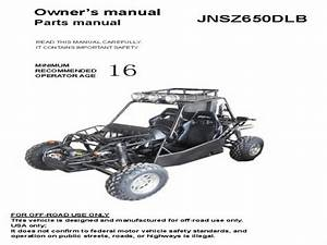 Joyner Spider Buggy - Wiring Diagram - Owners Manual