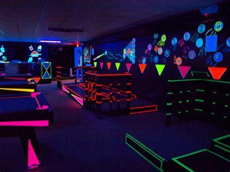 kidcore   blacklight party neon birthday glow