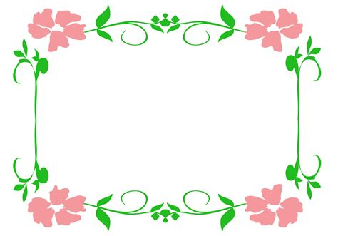 photo frames com free flower borders and frames
