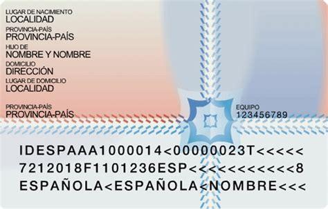 bureau passeport el dni la carte d 39 identité espagnole esp