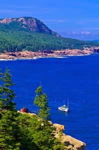 Mount Desert Island Maine Acadia National Park