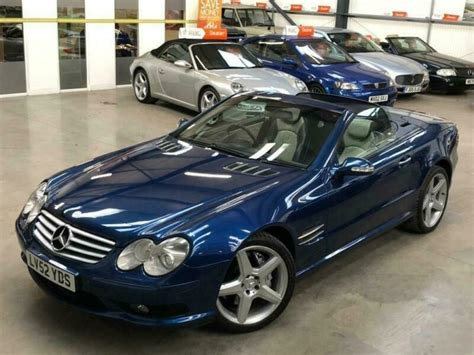The sl 55 amg was the fastest car in the world fitted with an automatic transmission at the time of its launch. 2002 Mercedes-Benz SL Class 5.4 SL55 Kompressor AMG 2dr | in Farnsfield, Nottinghamshire | Gumtree