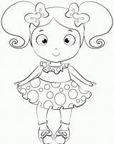 Doll Coloring Baby Pages Dolls Lol Colouring Printable Drawing Alive Surprise Cartoon American Print Drawings Getcolorings Para Dorita Miss Escolares sketch template