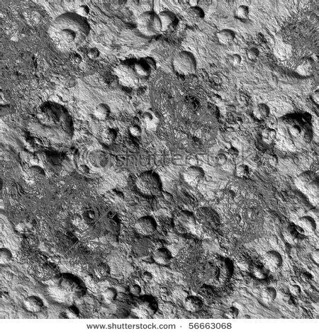 Moon Surface Seamless Texture