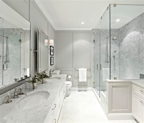 west village waterfront transitional bathroom