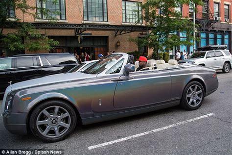 50 Cent Cruises Around Nyc In Custom Rolls-royce