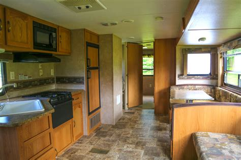 trailer cabin rentals maine ocean camping