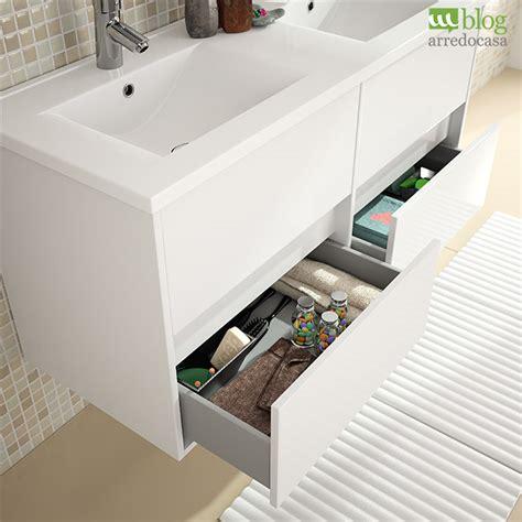 mobile bagno doppio mobili bagno con doppio lavabo pro e contro m