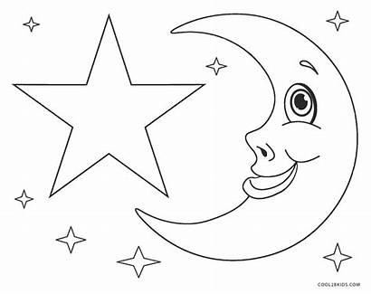 Coloring Stars Star Pages Printable Preschoolers Cool2bkids