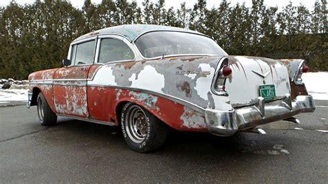 through wall air patina 1956 chevrolet bel air