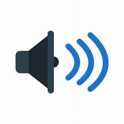 Sound Icon Vector Speaker Illustration Loud Icons