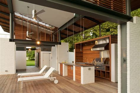 contemporary outdoor kitchen 13 outdoor kitchens for the ultimate entertaining 2540