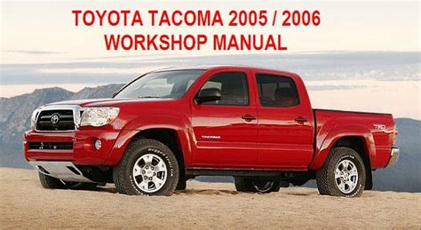 manuales de mecanica automotriz by autorepair soft manual de taller de toyota tacoma 2005 2006