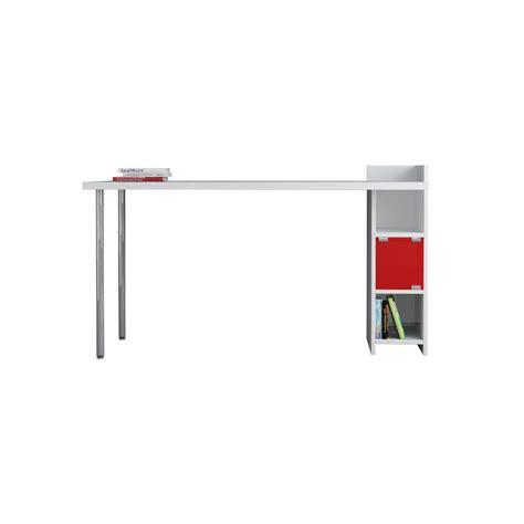 mensole scrivania slender scrivania con cassetti mensole in legno 140 x 60 cm