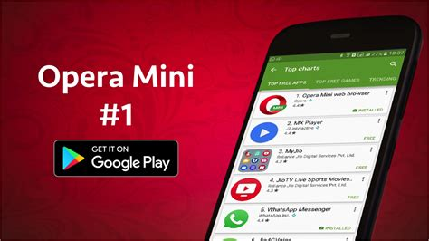 Opera mini is a fast android web browser that saves your time and data. Opera Mini is the most downloaded app in India