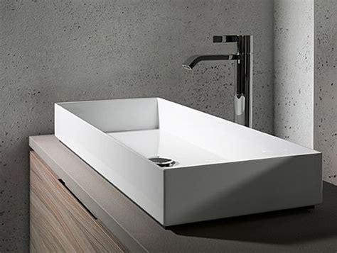 grande vasque poser 100 cm avec 2 trous de robinets brillant 6 salle de bains salle de bain