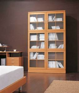 Regale Mit Glastüren : ideen f r b cherregal die das design des wohnzimmers verbessern ~ Markanthonyermac.com Haus und Dekorationen