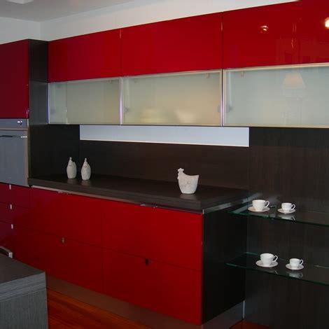 cucina scavolini rossa cucina scavolini flirt rossa in offerta cucine a prezzi