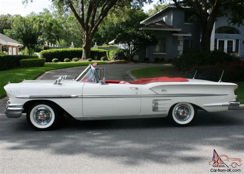 Beautiful Restored Two Owner  1958 Chevrolet Impala