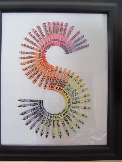 crayon letters  images diy teacher gifts teachers diy teacher gifts