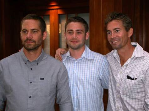 What Does Brat Stand For by Paul Walker S Lookalike Stuntman Brother Cody Asked To