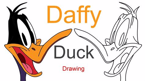 Daffy Duck Drawing The Looney Tunes Show How To Draw
