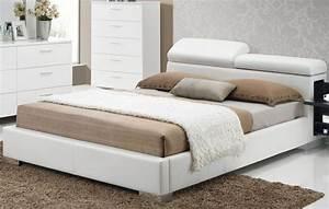 Acme, Manjot, White, Cal, King, Hidden, Storage, Platform, Bed