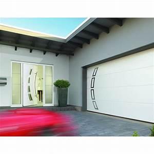 portes de garage et portes d39entree au design assorti 23 With porte entre garage et maison