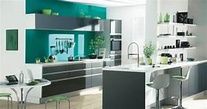 cuisine platine signature pre montee gris With quelle couleur avec gris anthracite 6 cuisine platine