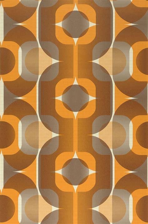 papier peint annee 70 sinon light ivory grey beige orange orange brown novelty wallpaper wallpaper