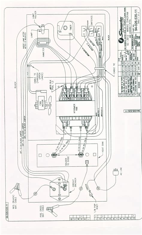 schumacher se  wiring diagram sample wiring diagram