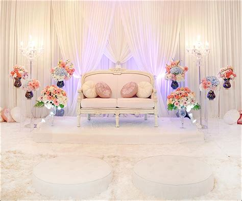 christian wedding stage decorationtop  ideas  inspire