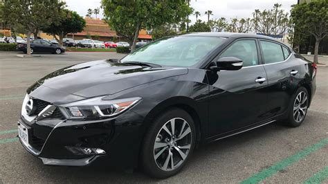 2017 Nissan Maxima Sv Test Drive And Review