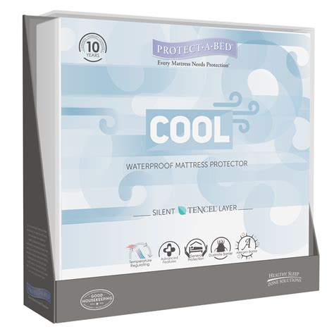 protect a bed mattress protector protect a bed therm a sleep cool moisture wicking