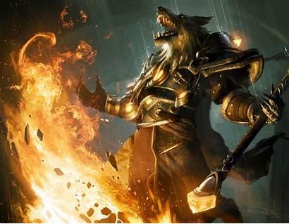 Warcraft Worgen Wow Wallpapers Desktop Backgrounds Wallpaperplay