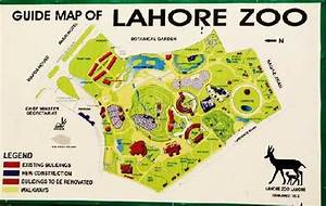 The Guide Map Of Lahore Zoo