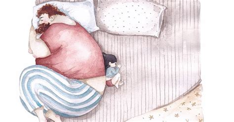 Heartwarming Illustrations About The Love Between Dads And