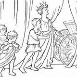 Ancient Rome Coloring Chariot Apollo Sun Vardo Pages Template Story History Netart sketch template