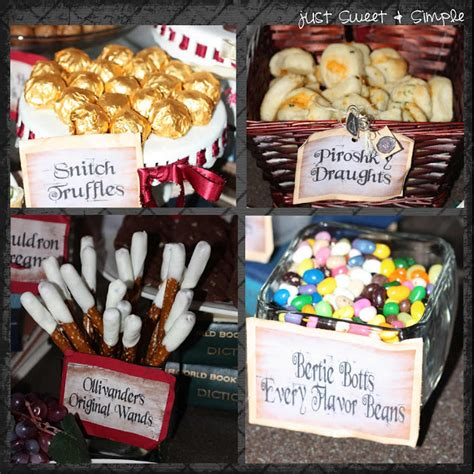 Pumpkin Pasties Recipe by Just Sweet And Simple Harry Potter Party