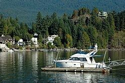 Boat Launch Port Moody by Belcarra