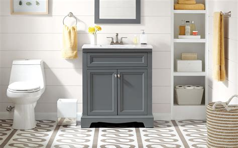 choose  bathroom vanity  home depot canada